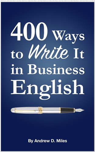 400 Ways to Write It in Business English – Free Today and Tomorrow